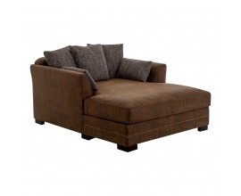Divan CHAISE LONGUE MARRON