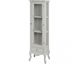 Fleur Tall Glazed Display Cabinet