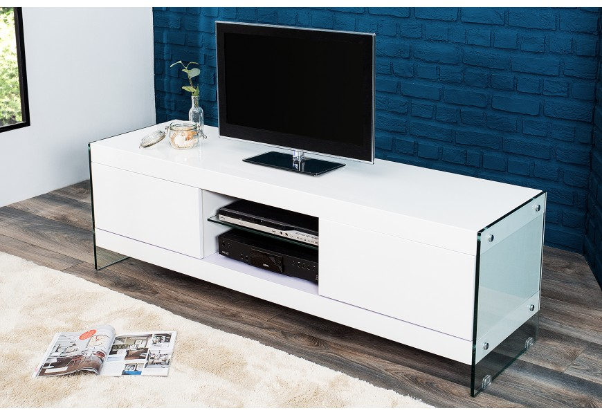 tv stolek lowboard 160cm b l n bytek malvarosa stylov pan lsk n bytek online. Black Bedroom Furniture Sets. Home Design Ideas